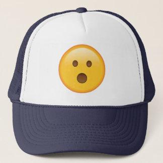 Überraschtes Gesicht - Emoji Truckerkappe