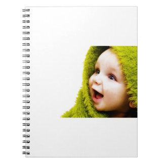 Überraschungs-Baby Notizblock
