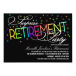 Überraschungs-Ruhestands-Party Einladungen
