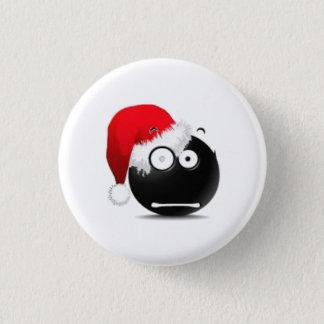 Überraschungsoh Weihnachtsgesicht Runder Button 3,2 Cm