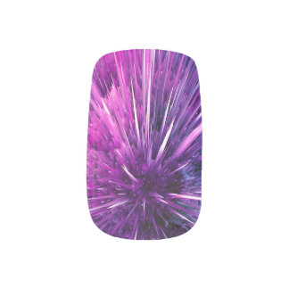 Überschallabstraktes Minx Nagelkunst