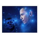 Überschreiten der Fackel, John F. Kennedy Barack Postkarten