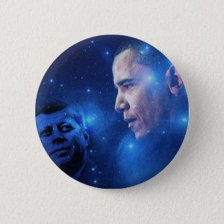 Überschreiten der Fackel, John F. Kennedy Barack Runder Button 5,1 Cm