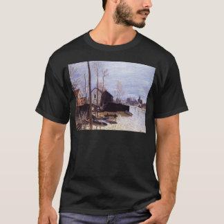 Überschwemmung bei Moret durch Alfred Sisley T-Shirt