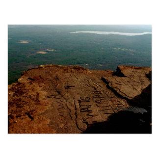 Übersehen Sie Berg Catskills Postkarte