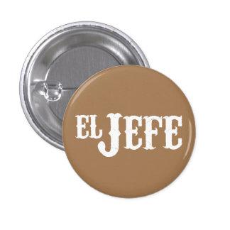 Übersetzung EL Jefe der Chef Runder Button 3,2 Cm