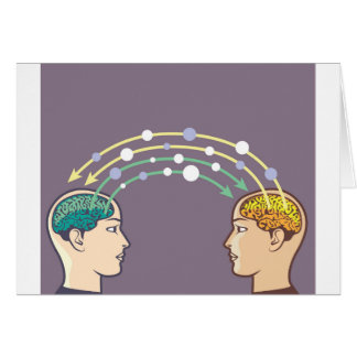 Übertragung der Informationen zwischen Verstand Karte