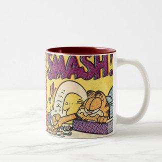 Überwältigende Uhr Garfields, Tasse