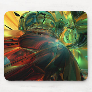 Überwundene Stärke abstrakt Mousepads