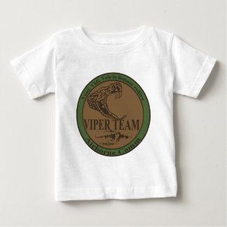 Überwundener Viper-Team-Flecken Baby T-shirt