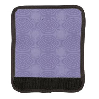 Überwundenes lila Sternexplosion-Muster Gepäck Markierung