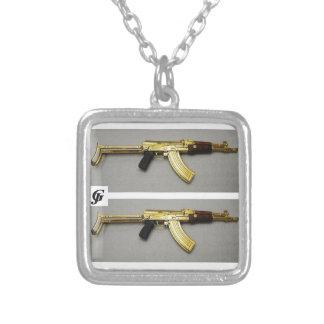 Überzogene Halskette des Waffenart-kleine