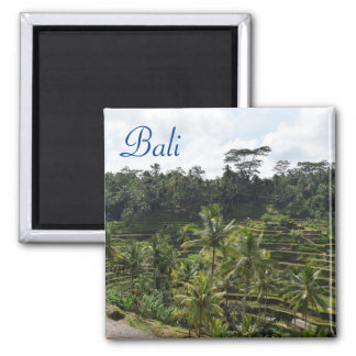 Ubud Bali Quadratischer Magnet