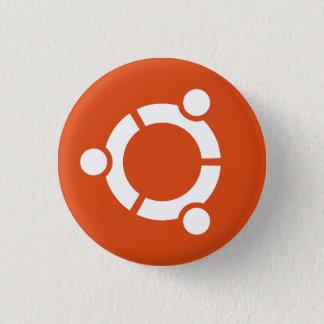 Ubuntu-Knopf Runder Button 2,5 Cm