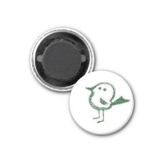 uccellino - Magnet klein Runder Magnet 2,5 Cm