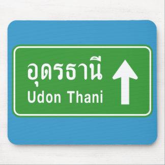 Udon Thani voran ⚠ thailändisches Mousepad