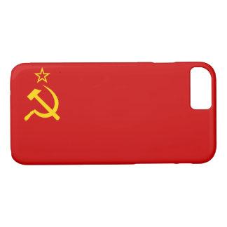 UDSSR-Flagge iPhone 8/7 Hülle