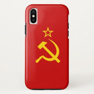 UDSSR-Flagge iPhone X Hülle
