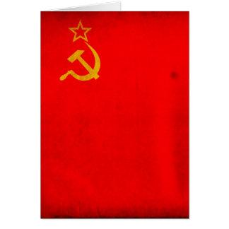 UDSSR-Flagge Karte