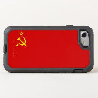 UDSSR-Flagge OtterBox Defender iPhone 8/7 Hülle