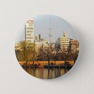 Ueno Park in Tokyo, Japan Runder Button 5,1 Cm