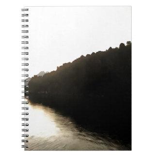 Ufer von Dunkelheit Spiral Notizblock