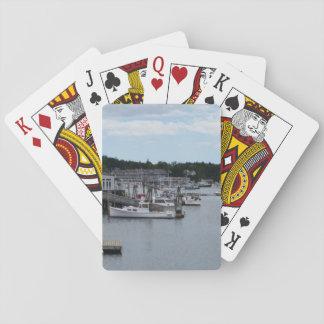 """""""Ufergegend"""" Boothbay Hafen-klassische Spielkarten"""