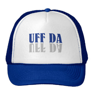 UFF DA lustiges Skandinavien Trucker Cap