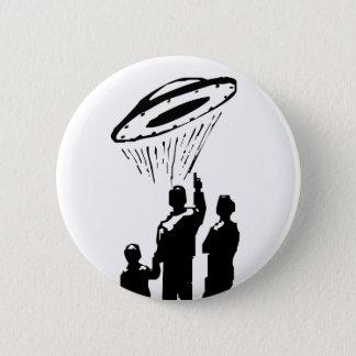 UFO-Anvisieren Runder Button 5,7 Cm