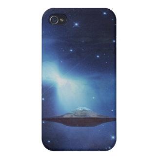 UFO-Flugobjekt im Raum iPhone 4 Case