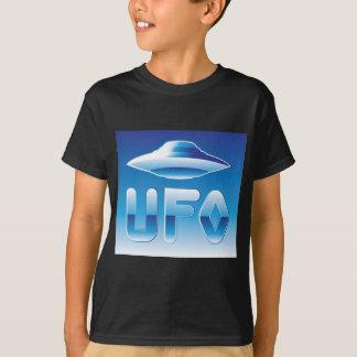 UFO im Himmel mit Abkürzung T-Shirt
