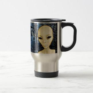 UFO-Invasions-alien-Grau-Kaffee-Tasse Reisebecher