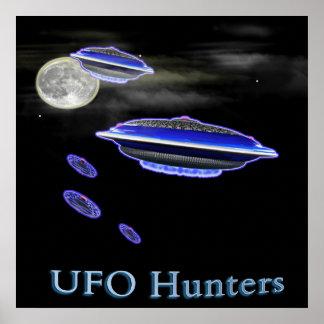 UFO-Jägerplakat Poster