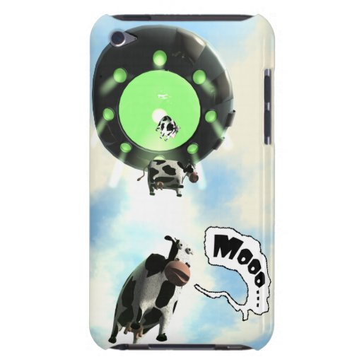 UFO-Kuh-Abduktion iPod Touch Cover