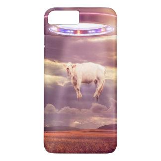 UFO-Kuh-Abduktions-Treffen-Telefon-Kasten iPhone 8 Plus/7 Plus Hülle