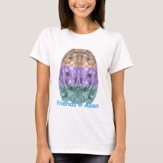 UFO-Maskottchen - Freunde mit alien T-Shirt
