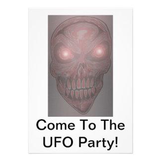 UFO-Party Einladungen