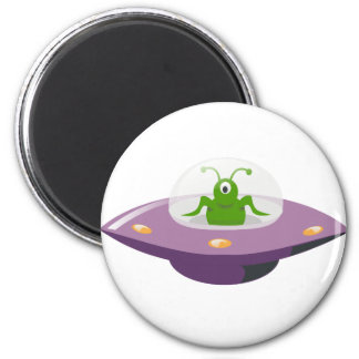 UFO RUNDER MAGNET 5,1 CM