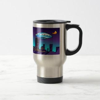 UFO-Stadt Reisebecher