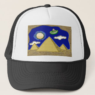 UFO über Ägypten Truckerkappe