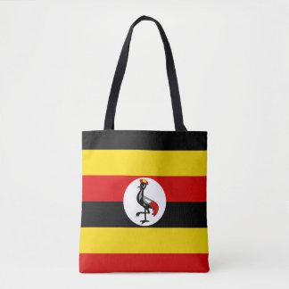 Uganda-Flagge Tasche