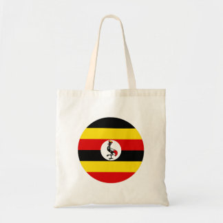 Uganda-Flagge Tragetasche