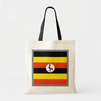 Uganda-Flaggen-Tasche Tragetasche