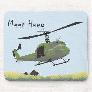 UH-1 Huey Militärmausunterlage Mousepads