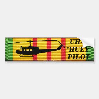 "UH-1 ""Huey"" Versuchs-VSM Band-Autoaufkleber Autoaufkleber"