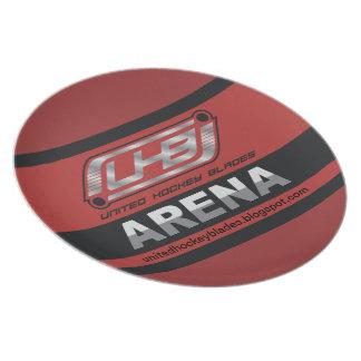 UHB Arena-Logo Teller