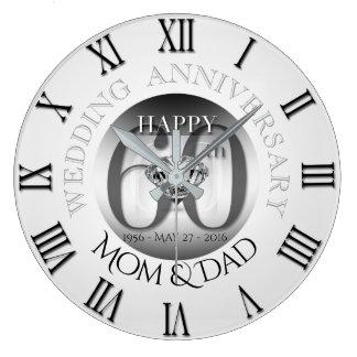 Uhr B römisches N des Diamant-60. des