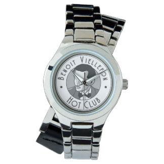 Uhr - Benoit heißer Verein (B&W Logo)