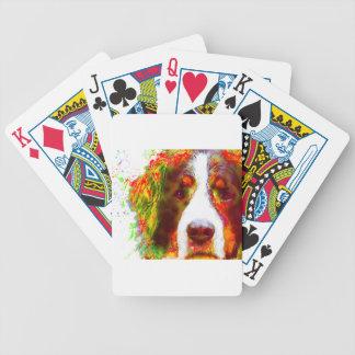 """""""UHR"""" - Bernese Gebirgshund Bicycle Spielkarten"""