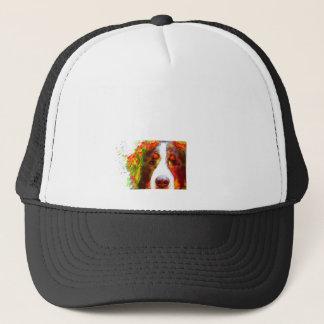 """""""UHR"""" - Bernese Gebirgshund Truckerkappe"""